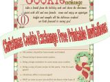 Free Baking Party Invitation Templates 9 Best Images Of Printable Cookie Exchange Invitations