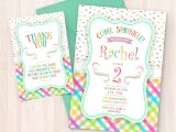 Free Birthday Invitation Cards to Print at Home Printable Sprinkle Birthday Invitations Free Thank You