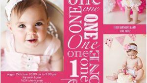 Free Birthday Invitation Templates for 1 Year Old One Year Old Birthday Party Invitations Ideas Free