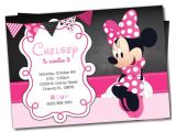 Free Birthday Invitation Templates Minnie Mouse Awesome Minnie Mouse Invitation Template 27 Free Psd