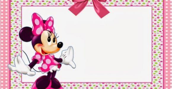 Free Birthday Invitation Templates Minnie Mouse Minnie Mouse Free Printable Invitation Templates
