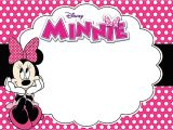 Free Birthday Invitation Templates Minnie Mouse Printable Minnie Mouse Invitations Picture Fiftyplates