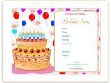 Free Birthday Invitations Templates for Word Microsoft Word Templates Birthday Invitation Templates