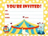 Free Birthday Party Invitation Template Printable Birthday Party Invitations Bagvania