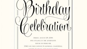 Free Birthday Party Invitation Templates for Adults 39 Adult Birthday Invitation Templates Free Sample