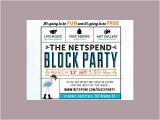 Free Block Party Invitation Template 9 Free Party Invitations Free Psd Ai Vector Eps