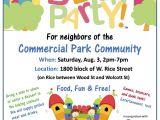Free Block Party Invitation Template Neighborhood Party Invitation Invitation Librarry