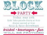 Free Block Party Invitation Template Planning Summer Block Party Party Invitations