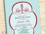 Free Bridal Shower Tea Party Invitation Templates Bridal Shower Invitations Tea Party Bridal Shower