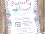 Free butterfly Baby Shower Invitation Templates Purple butterfly Baby Shower Invitations