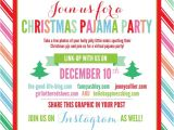 Free Christmas Pajama Party Invitations Christmas Pajama Party Link Up Fancy ashley