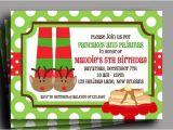 Free Christmas Pajama Party Invitations Christmas Pajamas and Pancakes Invitation Printable or