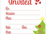 Free Christmas Party Invitation Template Amazon Com Snowflake Classic Christmas Invitations Fill