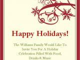 Free Christmas Party Invitation Templates Holiday Invitation Template