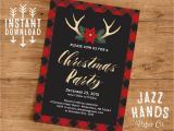 Free Christmas Party Invitation Templates Uk Christmas Party Invitation Template Diy Printable Holiday