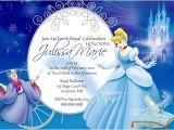 Free Cinderella Birthday Invitation Template Cinderella Birthday Invitations Ideas Bagvania Free