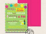 Free Coed Baby Shower Invites Coed Baby Shower Invitation 15 Custom Invitations with