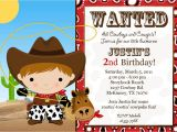Free Custom Birthday Invitations with Photo Custom Cowgirl Birthday Invitations Free