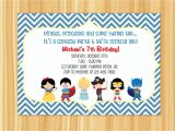 Free Custom Birthday Invitations with Photo Custom Printable Kids Costume Party Birthday Invitation