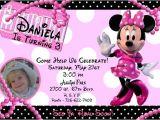 Free Customizable Minnie Mouse Birthday Invitations Minnie Mouse Birthday Party Invitations Ideas Bagvania
