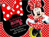 Free Customizable Minnie Mouse Birthday Invitations Minnie Mouse Birthday Party Invitations Personalized