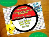 Free Digital Birthday Invitation Cards Pokemon Birthday Invitations Free Egreeting Ecards