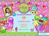 Free Digital Birthday Invitation Cards Shopkins Birthday Invitation Digital File