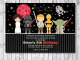 Free Digital Birthday Invitation Cards Star Wars Digital Birthday Invitation Card Printable