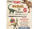 Free Dinosaur Birthday Party Invitation Template 26 Dinosaur Birthday Invitation Templates Free Sample