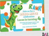 Free Dinosaur Birthday Party Invitation Template Free Dinosaur Invitation Printables orderecigsjuice Info