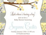 Free Downloadable Baby Shower Invites Owl Baby Boy Shower Invitation Printable Baby Shower