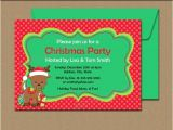 Free Editable Christmas Party Invitations Downloadable Christmas Party Invitations with Reindeer