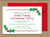 Free Editable Christmas Party Invitations Editable Christmas Party Invitation Christmas by