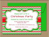Free Editable Christmas Party Invitations Editable Holiday Invitation Template Red by Digitalartstar