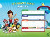 Free Editable Paw Patrol Birthday Invitations Free Printable Paw Patrol Birthday Invitations Basic Diy
