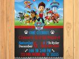 Free Editable Paw Patrol Birthday Invitations Paw Patrol Invitation Chalkboard theme Free Paw Patrol