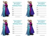 Free Editable Printable Frozen Birthday Invitations 25 Best Ideas About Free Frozen Invitations On Pinterest