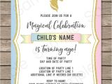 Free Editable Unicorn Birthday Invitations Unicorn Party Invitations Template Unicorn theme