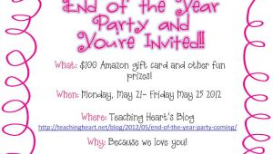 Free End Of Year Party Invitation Template Year End Party Invitation Card