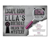 Free Escape Room Birthday Party Invitations 17 Best Images About Escape Room Party On Pinterest