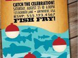 Free Fish themed Birthday Party Invitations Diy Printable Retro Fishing Birthday Party Invitation Via