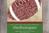 Free Football Baby Shower Invitations Football Baby Shower Invitation Sports Baby Shower by