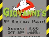Free Ghostbusters Birthday Invitations Create Own Ghostbusters Birthday Invitations Free Ideas