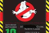 Free Ghostbusters Birthday Invitations Ghostbusters Birthday Party Ideas 1 Of 8