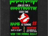 Free Ghostbusters Birthday Invitations Personalized Ghostbusters Birthday Invitation Party by