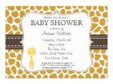 "Free Giraffe Baby Shower Invitations Templates Custom Color Giraffe Baby Shower Invitations 5"" X 7"