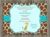 Free Giraffe Baby Shower Invitations Templates Free Printable Chevron Baby Shower Invitations Oxyline
