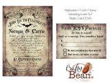Free Gothic Wedding Invitation Templates Custom Vintage Victorian Halloween Goth Wedding Invitation