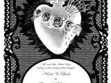Free Gothic Wedding Invitation Templates Gothic Wedding Invitation Templates