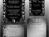 Free Gothic Wedding Invitation Templates Halloween Wedding Invitation 19 Psd Jpg format